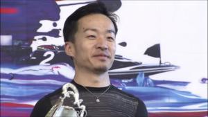 山口剛選手 岩田杯優勝